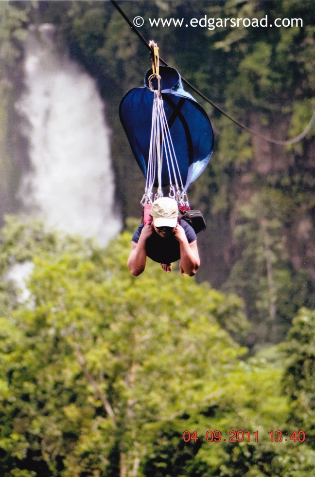 7 Falls Zipline, Lake Sebu, South Cotabato